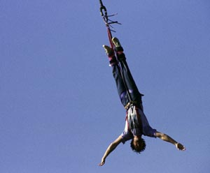 Bungee-Jumping am Lago Maggiore